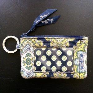 ⭐3/$25⭐ Vera Bradley Keychain Wallet w. ID Window